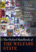 Oxford handbook of the welfare state  edited by Francis G. Castles